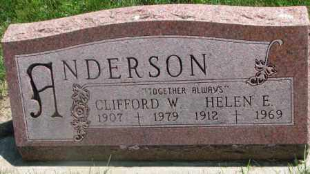 ANDERSON, CLIFFORD W. - Yankton County, South Dakota | CLIFFORD W. ANDERSON - South Dakota Gravestone Photos
