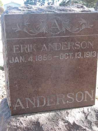 ANDERSON, ERIK - Yankton County, South Dakota | ERIK ANDERSON - South Dakota Gravestone Photos