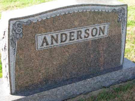ANDERSON, FAMILY STONE - Yankton County, South Dakota | FAMILY STONE ANDERSON - South Dakota Gravestone Photos