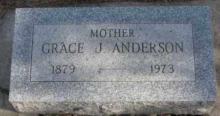 ANDERSON, GRACE J. - Yankton County, South Dakota | GRACE J. ANDERSON - South Dakota Gravestone Photos