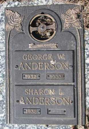 ANDERSON, SHARON L. - Yankton County, South Dakota | SHARON L. ANDERSON - South Dakota Gravestone Photos