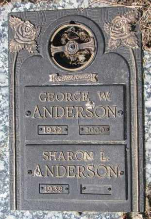 ANDERSON, SHARON L. - Yankton County, South Dakota | SHARON L. ANDERSON - South Dakota Gravestone Photos
