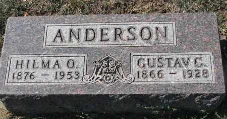 ANDERSON, HILMA O. - Yankton County, South Dakota | HILMA O. ANDERSON - South Dakota Gravestone Photos