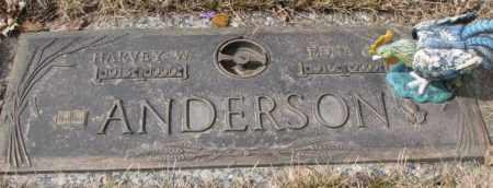 ANDERSON, HARVEY W. - Yankton County, South Dakota | HARVEY W. ANDERSON - South Dakota Gravestone Photos
