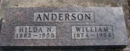 ANDERSON, WILLIAM - Yankton County, South Dakota | WILLIAM ANDERSON - South Dakota Gravestone Photos