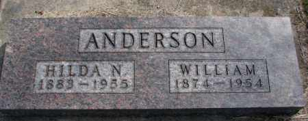 ANDERSON, HILDA N. - Yankton County, South Dakota | HILDA N. ANDERSON - South Dakota Gravestone Photos