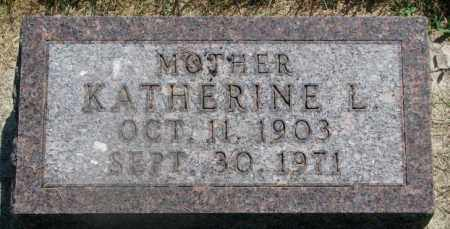 ANDERSON, KATHERINE L. - Yankton County, South Dakota | KATHERINE L. ANDERSON - South Dakota Gravestone Photos