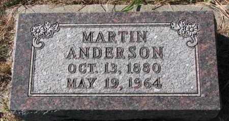 ANDERSON, MARTIN - Yankton County, South Dakota | MARTIN ANDERSON - South Dakota Gravestone Photos
