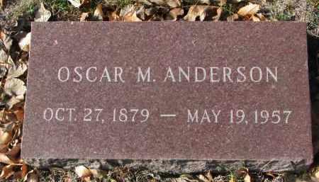 ANDERSON, OSCAR M. - Yankton County, South Dakota | OSCAR M. ANDERSON - South Dakota Gravestone Photos