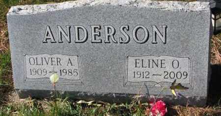 ANDERSON, ELINE O. - Yankton County, South Dakota | ELINE O. ANDERSON - South Dakota Gravestone Photos