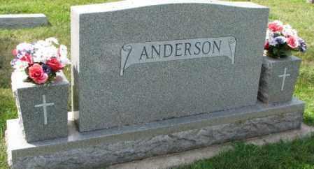 ANDERSON, PLOT - Yankton County, South Dakota | PLOT ANDERSON - South Dakota Gravestone Photos