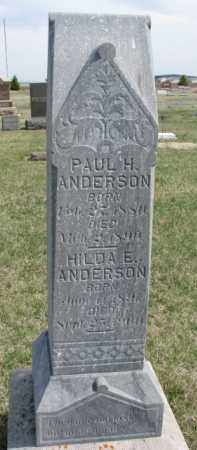 ANDERSON, PAUL H. - Yankton County, South Dakota | PAUL H. ANDERSON - South Dakota Gravestone Photos