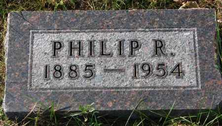 ANDERSON, PHILIP R. - Yankton County, South Dakota | PHILIP R. ANDERSON - South Dakota Gravestone Photos