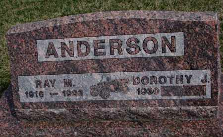 ANDERSON, RAY M. - Yankton County, South Dakota | RAY M. ANDERSON - South Dakota Gravestone Photos