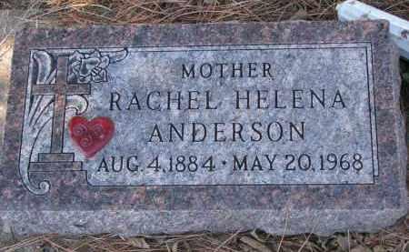 ANDERSON, RACHEL HELENA - Yankton County, South Dakota   RACHEL HELENA ANDERSON - South Dakota Gravestone Photos