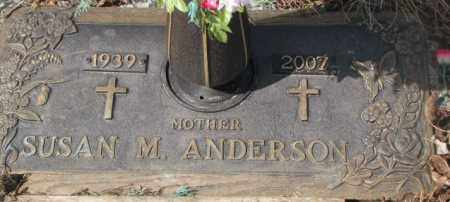 ANDERSON, SUSAN M. - Yankton County, South Dakota | SUSAN M. ANDERSON - South Dakota Gravestone Photos