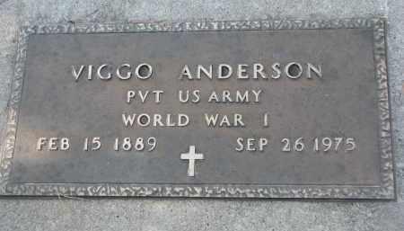 ANDERSON, VIGGO (WW I) - Yankton County, South Dakota | VIGGO (WW I) ANDERSON - South Dakota Gravestone Photos