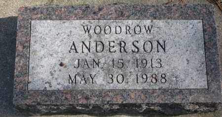 ANDERSON, WOODROW - Yankton County, South Dakota   WOODROW ANDERSON - South Dakota Gravestone Photos