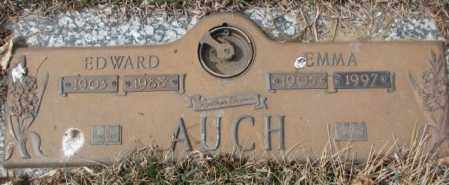 AUCH, EMMA - Yankton County, South Dakota | EMMA AUCH - South Dakota Gravestone Photos