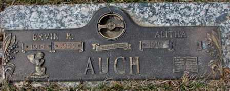 AUCH, ERVIN R. - Yankton County, South Dakota | ERVIN R. AUCH - South Dakota Gravestone Photos