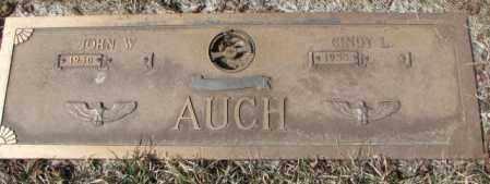 AUCH, JOHN W. - Yankton County, South Dakota | JOHN W. AUCH - South Dakota Gravestone Photos