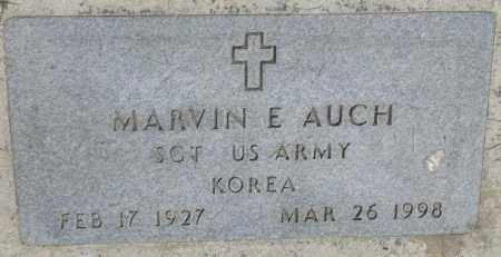 AUCH, MARVIN E. (MILITARY) - Yankton County, South Dakota | MARVIN E. (MILITARY) AUCH - South Dakota Gravestone Photos