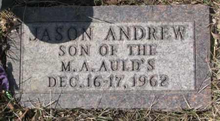 AULD, JASON ANDREW - Yankton County, South Dakota | JASON ANDREW AULD - South Dakota Gravestone Photos