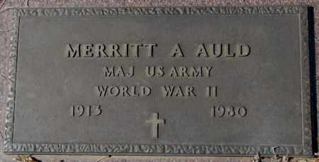 AULD, MERRITT A. - Yankton County, South Dakota | MERRITT A. AULD - South Dakota Gravestone Photos