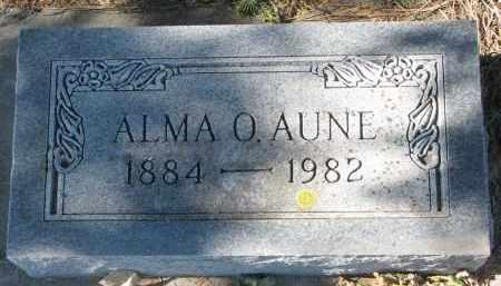 AUNE, ALMA O. - Yankton County, South Dakota | ALMA O. AUNE - South Dakota Gravestone Photos
