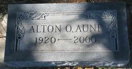 AUNE, ALTON O. - Yankton County, South Dakota | ALTON O. AUNE - South Dakota Gravestone Photos
