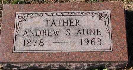 AUNE, ANDREW S. - Yankton County, South Dakota | ANDREW S. AUNE - South Dakota Gravestone Photos