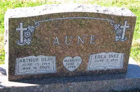 AUNE, ARTHUR OLIN - Yankton County, South Dakota | ARTHUR OLIN AUNE - South Dakota Gravestone Photos