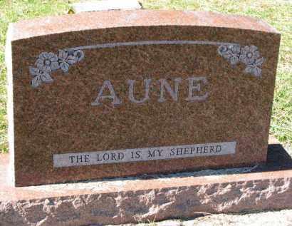 AUNE, FAMILY STONE - Yankton County, South Dakota   FAMILY STONE AUNE - South Dakota Gravestone Photos