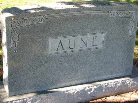 AUNE, FAMILY STONE - Yankton County, South Dakota | FAMILY STONE AUNE - South Dakota Gravestone Photos