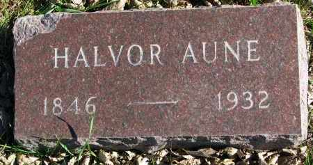AUNE, HALVOR - Yankton County, South Dakota | HALVOR AUNE - South Dakota Gravestone Photos