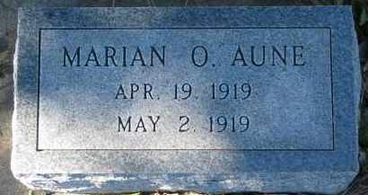 AUNE, MARIAN O. - Yankton County, South Dakota | MARIAN O. AUNE - South Dakota Gravestone Photos