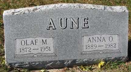 AUNE, OLAF M. - Yankton County, South Dakota | OLAF M. AUNE - South Dakota Gravestone Photos