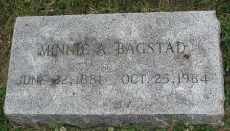 BAGSTAD, MINNIE A. - Yankton County, South Dakota | MINNIE A. BAGSTAD - South Dakota Gravestone Photos