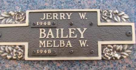 BAILEY, JERRY W. - Yankton County, South Dakota | JERRY W. BAILEY - South Dakota Gravestone Photos