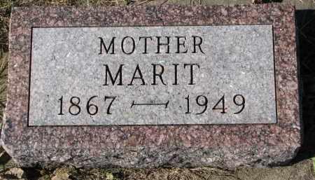 BAKKE, MARIT - Yankton County, South Dakota | MARIT BAKKE - South Dakota Gravestone Photos