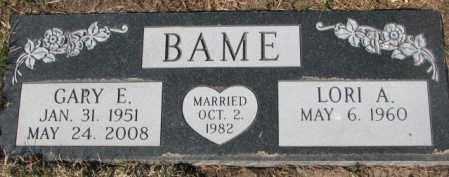 BAME, LORI A. - Yankton County, South Dakota | LORI A. BAME - South Dakota Gravestone Photos