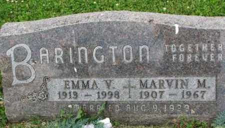 BARINGTON, EMMA V. - Yankton County, South Dakota | EMMA V. BARINGTON - South Dakota Gravestone Photos
