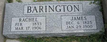 BARINGTON, JAMES #2 - Yankton County, South Dakota | JAMES #2 BARINGTON - South Dakota Gravestone Photos
