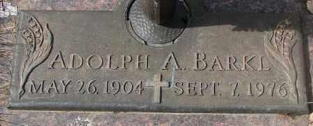 BARKL, ADOLPH A. - Yankton County, South Dakota | ADOLPH A. BARKL - South Dakota Gravestone Photos