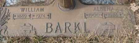 BARKL, ALBENA - Yankton County, South Dakota | ALBENA BARKL - South Dakota Gravestone Photos