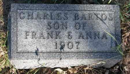BARTOS, CHARLES - Yankton County, South Dakota | CHARLES BARTOS - South Dakota Gravestone Photos