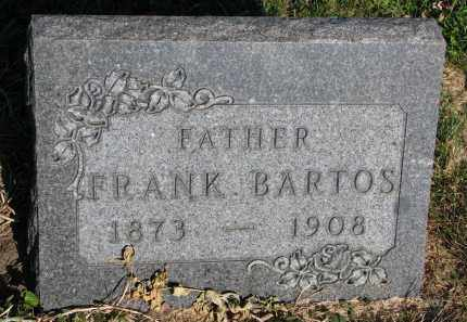BARTOS, FRANK - Yankton County, South Dakota | FRANK BARTOS - South Dakota Gravestone Photos