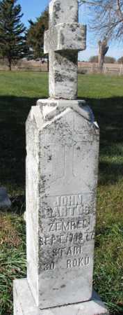 BARTOS, JOHN - Yankton County, South Dakota   JOHN BARTOS - South Dakota Gravestone Photos
