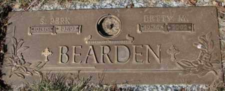 BEARDEN, S. PERK - Yankton County, South Dakota | S. PERK BEARDEN - South Dakota Gravestone Photos