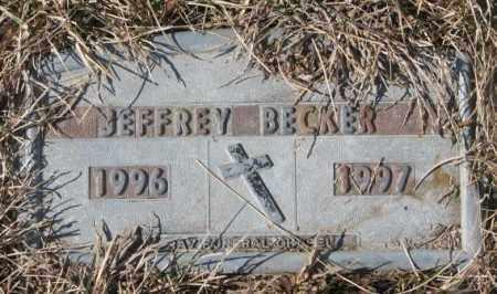 BECKER, JEFFREY - Yankton County, South Dakota | JEFFREY BECKER - South Dakota Gravestone Photos